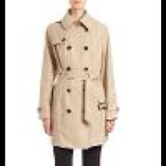 48c991cb512 MICHAEL KORS BELTED TRENCH COAT CHRISTMAS GIFT NWT MICHAEL MICHAEL KORS  Double-Breasted Trench Coat
