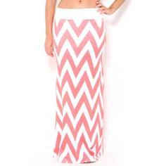 OMG, Love this chevron skirt! #SFLsummerstyle