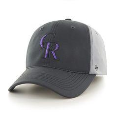 Colorado Rockies Feldspar Closer Dark Gray 47 Brand Stretch Fit Hat