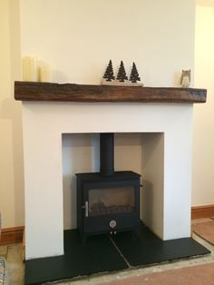 Chilli Penguin Woody Fireplace Wall, Living Room With Fireplace, Fireplace Ideas, Stove Installation, Pellet Stove, Log Burner, Lounge Ideas, Woodburning, Stoves
