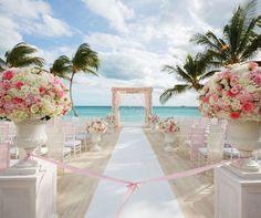 Beach Chic Bahamas Wedding