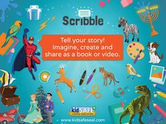 Scribble - Creative Book Maker for Kids by Fingerprint Formerly Scribble Press Computer Games For Kids, Gaming Computer, Book Maker, Scribble, Itunes, Ipad, Education, Learning, Store