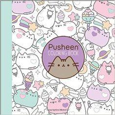 Pusheen im Malbuch :) Sieht total niedlich aus und gefällt mit Sicherheit ncht nur Kindern. Pusheen ist auch bei vielen Erwachsenen und Teenagern der Renner. Partnerlink.