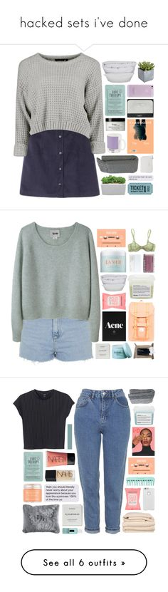 """""""hacked sets i've done"""" by annamari-a ❤ liked on Polyvore featuring By Nord, Kocostar, Crate and Barrel, NARS Cosmetics, Pier 1 Imports, W2 Products, philosophy, Acne Studios, Topshop and Formula 10.0.6"""