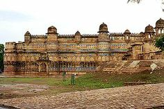 Gwalior Fort, Gwalior India, home to the first recorded zero.