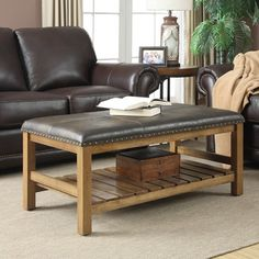 Loon Peak Perkins Ottoman Bench & Reviews | Wayfair