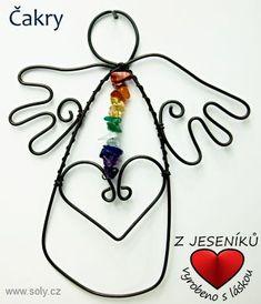 Čakrové kameny s andělem z drátu Washer Necklace, Jewelry, Jewlery, Jewerly, Schmuck, Jewels, Jewelery, Fine Jewelry, Jewel