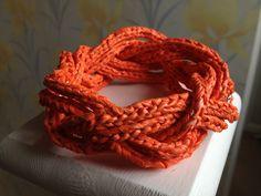 Love this plarn bracelet!
