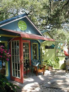 Shops on Tybee Island, Georgia