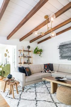 The design for this California ranch house was inspired by the youthful spirit of our client! Using classic mid-century design elements infused with a bohemian flair, we created a truly livable family home reflecting the spirit of people inside. Oh Beauty Interiors, a California-based boutique interior design firm. #midcenturymodern#midcentury #bohemianstyle #bohemian #scandinaviandesign #interiordesign#ohbeautyinteriors