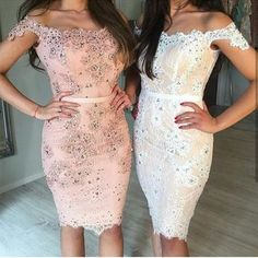Chic Lace Off The Shoulder Sheath Homecoming Dresses 2018 Short Prom Gowns Glam Dresses, Pretty Dresses, Short Dresses, Homecoming Dresses 2017, Prom Gowns, Gowns 2017, Prom Dress, Lace Dress Styles, Dress Lace