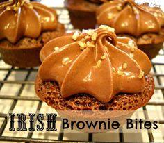 Bake It With Booze!: Irish Brownie Bites