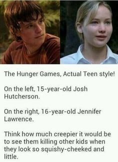 I wouldn't want them to do that. Doesn't Josh Hutcherson look like Hiccup...and Jennifer Lawrence like Astrid...sorta? lol XD