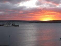 Beautiful sunrise, Digby, Nova Scotia Beautiful Sunrise, Beautiful Scenery, Nova Scotia, Islands, Canada, Celestial, Sunset, Outdoor, Outdoors