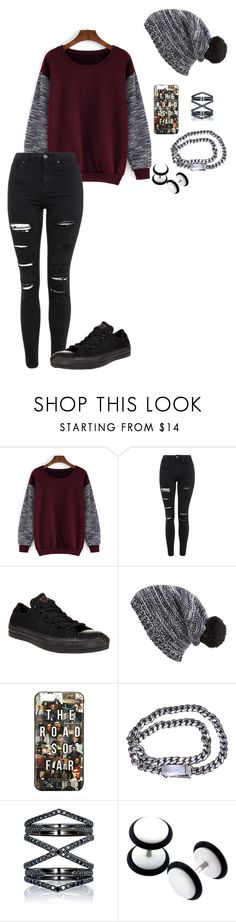 """""""Untitled #566"""" by breemanor on Polyvore featuring Topshop, Converse, Capelli New York, Calvin Klein and Eva Fehren"""