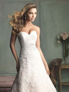 Allure Bridal Spring 2014 - Style 9109