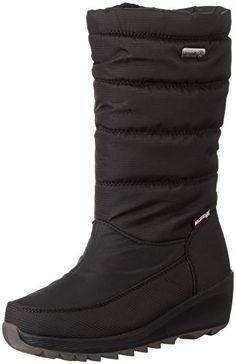 Women's Adorbs-Sweater Trimmed Snow BootBlack8.5 M US