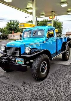 Mostly Mopar Muscle Old Dodge Trucks, Chevy Diesel Trucks, Vintage Pickup Trucks, Classic Pickup Trucks, Jeep Truck, Lifted Trucks, Vintage Cars, Dodge Power Wagon, Dodge Wagon