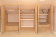 Image result for loft conversion built in wardrobes