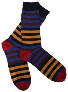 Striped Socks   Ted Baker   KJ Beckett Only £8.50! Perfect Gift Idea!