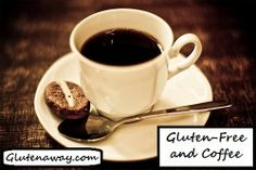 #Glutenfree coffee list and tips to avoid cross contamination!