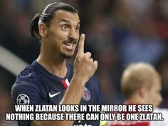 Zlatan Ibrahimovic disgusted with being ranked second best all-time Swede in sports Funny Football Memes, Soccer Memes, Soccer Quotes, Soccer Fans, Funny Soccer, Soccer Stuff, Messi And Ronaldo, Cristiano Ronaldo, Zlatan Quotes