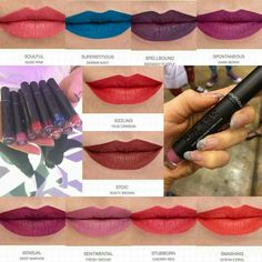 Younique SPLASH Liquid Lipstick Ten Fabulous Matte Shades to chose from! Coming soon to Younique by Stephanie Presswood.