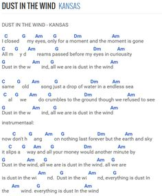 Dust in the wind  Kansas