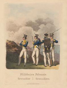 Polish grenadiers  Polish Kingdom 1815-1831