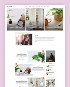 Nantes - WordPress Theme - Blog Theme - Premade Blog Themes - Responsive Blog Templates - Blog Design - Travel - Lifestyle - Fashion #wordpress #blog #theme