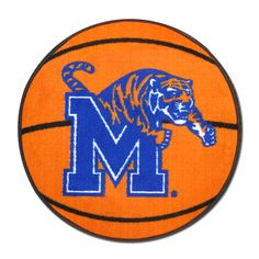 Memphis Tigers Basketball Rug