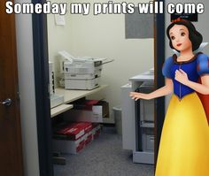 The classic story of the Princess and her Prints