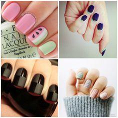 Nem todas as nail arts são coloridíssimas, repletas de detalhes e adornos, gente! Se estiver afim dedecorar as unhas de um jeito mais sutil...
