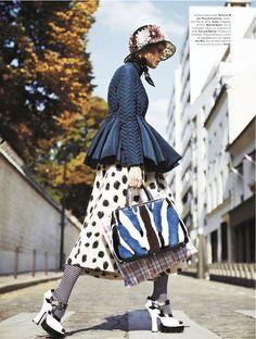 bag lady: ehren dorsey by stian foss for l'officiel paris november 2013
