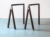 Design Tischböcke 2er Set, Tischbeine 70er