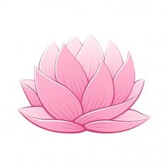 Stress Management With Flowers Lotus Drawing, Lilies Drawing, Art Floral, Lotus Vector, Lotus Flower Art, Illustration Blume, Pink Lotus, Water Lilies, Pictures To Draw