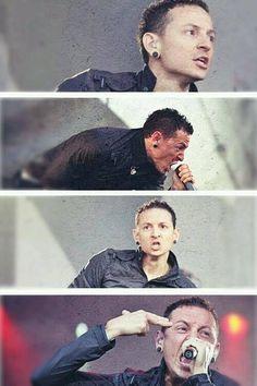 Chester Bennington rocks!!! Linkin Park
