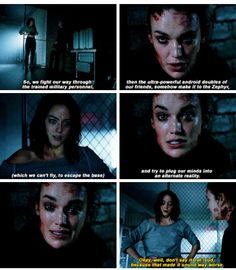 """Don't say it out loud, because that made it sound way worse"" - Daisy and Jemma #AgentsOfSHIELD"