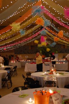Image result for how to decorate a daddy daughter dance pinteres party ideas by mardi gras outlet draped deco poly mesh ceiling tutorial junglespirit Gallery
