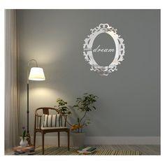 Luxusné zrkadlo s nápisom dream Home Decor, Decoration Home, Room Decor, Home Interior Design, Home Decoration, Interior Design