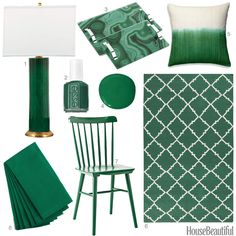 We love fir green!