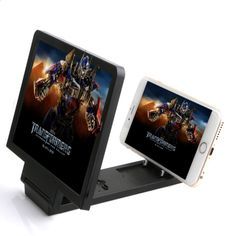 Universal Folding 3D Mobile Phone Screen Magnifier Stand