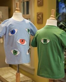Eyeball T-shirts | Step-by-Step | DIY Craft How To's and Instructions| Martha Stewart