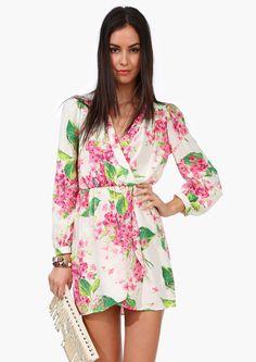 Orchid Wrap Dress