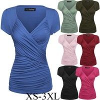 Materials: Spandex Color:Black/ Wine red/ Blue/ Pink/ Green/ Army Green Size:S/M/L/XL/XXL/XXXL Siz