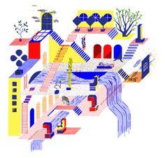 Illustratorin Hannah Waldron erforscht die Strukturen und Formen ihrer Umgebung