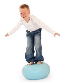 Kinderen tegenwoordig aanleg voor overgewicht? Geef kinderen speelgoed dat uitdaagt tot actie en dan zul je zien dat ze zelf daarmee aan de slag gaan, want dat is kind eigen! bObles Donut!