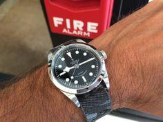 HOT! The new Tudor Heritage Black Bay 36mm. Just in! #tudorwatches #tudorblackbay36 #womw #wotd #wus #lovewatch #luxurywatch #swisswatch #watchoftheday #wristshot