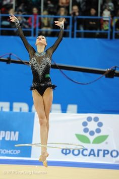 Maria Titova in Yana's leo??? (Black 2014 /Baku for ball)