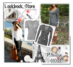 """""""Grey style I like :) :)"""" by merryyyyy-132 ❤ liked on Polyvore featuring women's clothing, women's fashion, women, female, woman, misses, juniors and lookbookstore"""